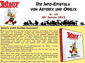 Asterix Newsletter Info Epistula